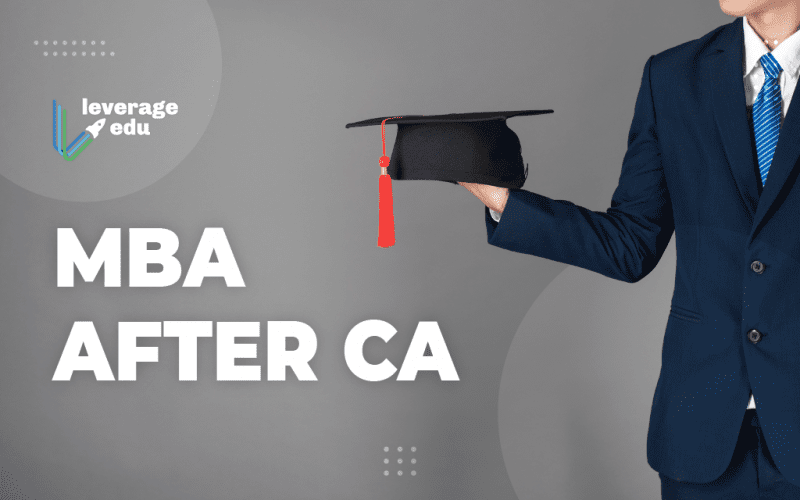 MBA After CA