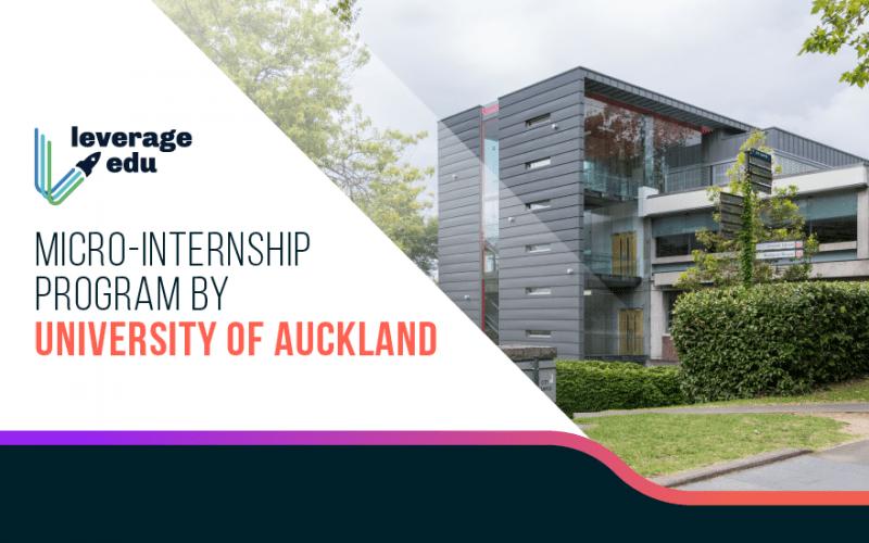Micro-Internship Program by University of Auckland