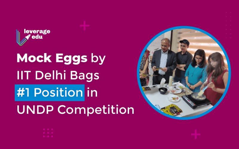 Mock Eggs by IIT Delhi
