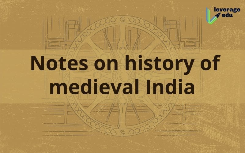 notes on history of medieval india