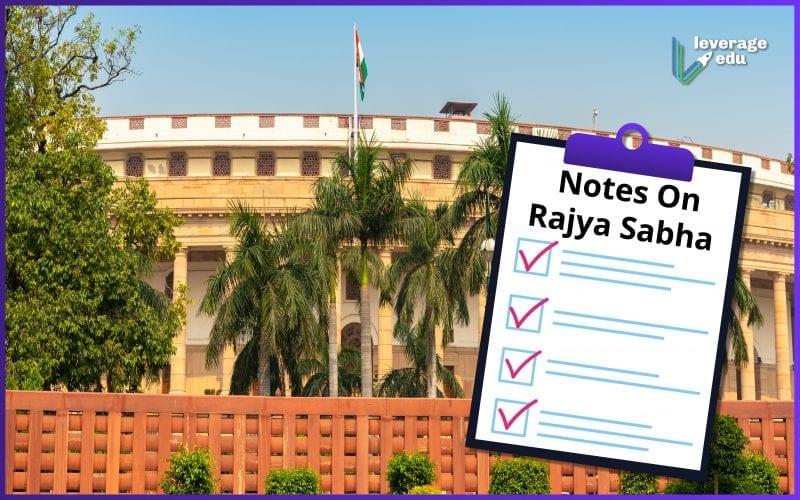 notes on rajya sabha