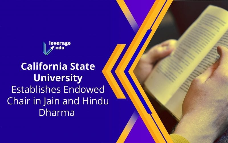 CSU Establishes Endowed Chair in Jain & Hindu Dharma