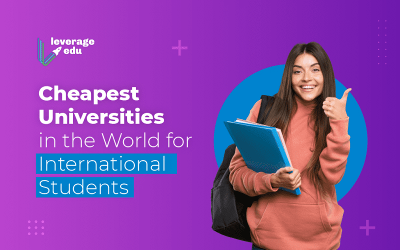 Cheapest Universities in the World for International Students