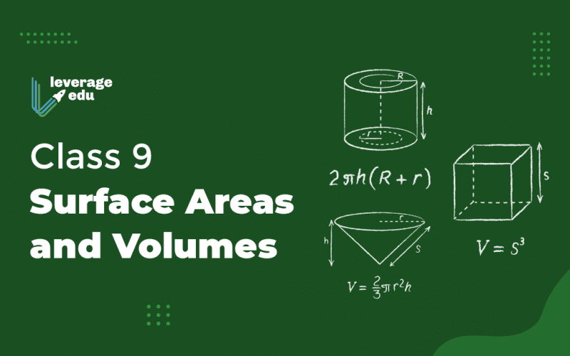 Class 9 Surface Areas and Volumes
