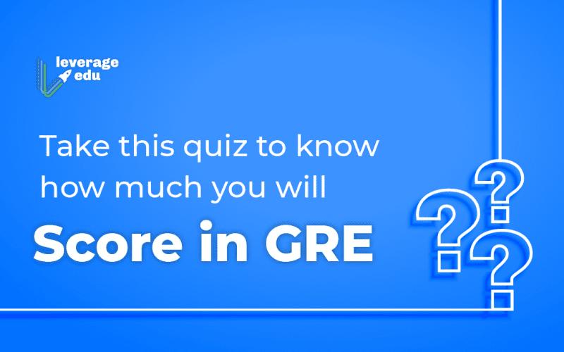 GRE quiz