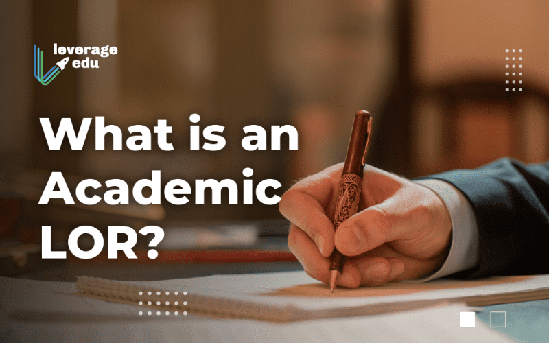 Academic LOR