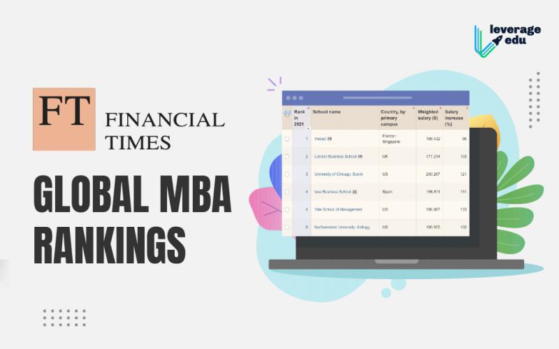 FT Global MBA Rankings
