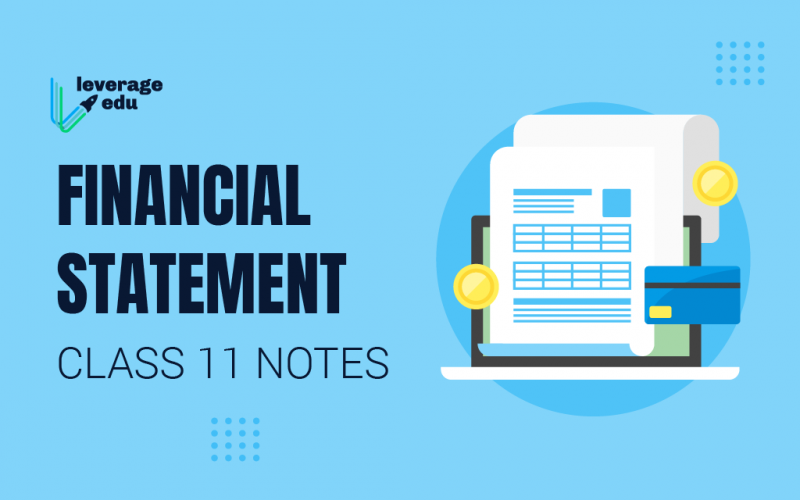 Financial Statement Class 11 Notes