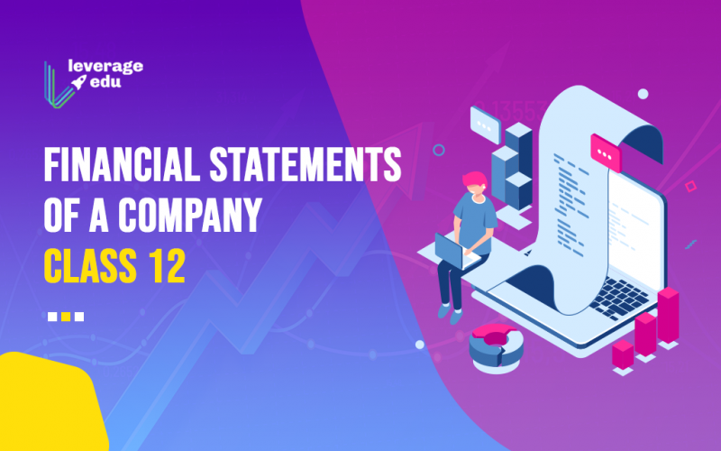 Financial Statements of a Company Class 12
