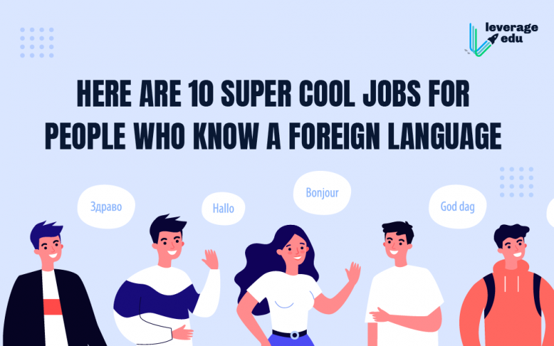 Foreign Language Jobs