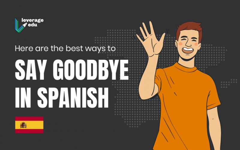 Goodbye in Spanish
