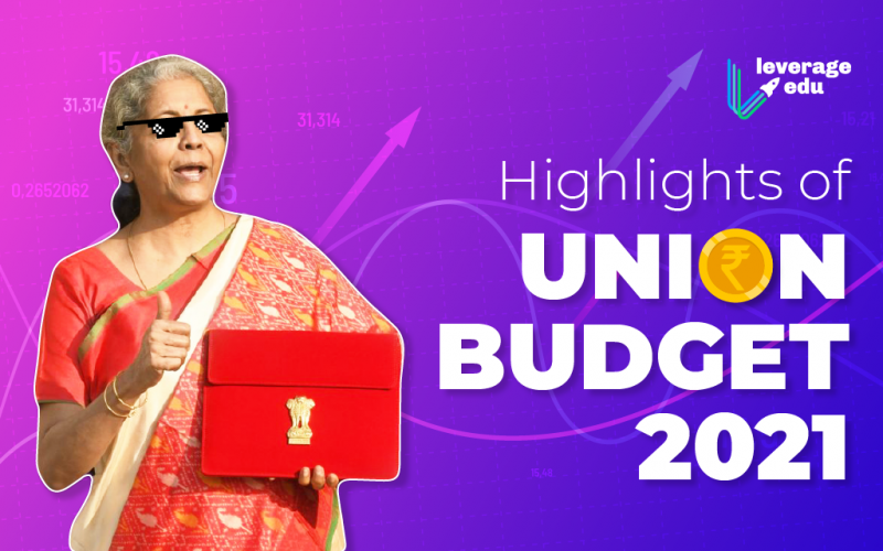 Highlights of Union Budget