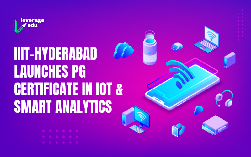 PG Certificate in IoT and Smart Analytics by IIIT-H