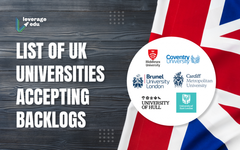 List of UK Universities Accepting Backlogs