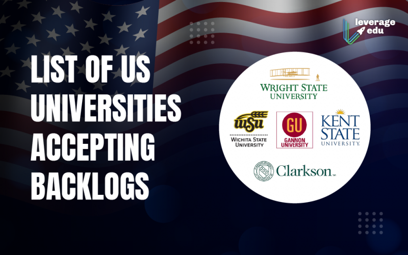 Universities Accepting Backlogs In USA