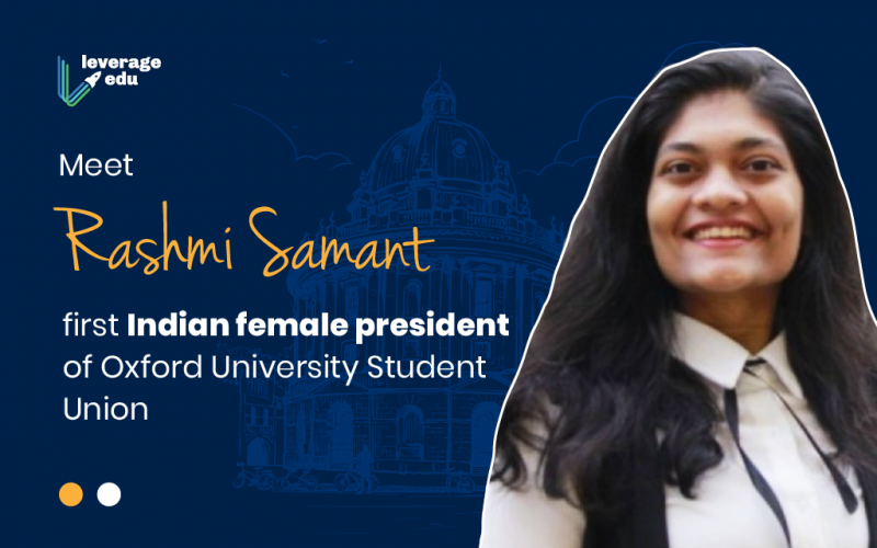 First Indian Female President of Oxford University Student Union