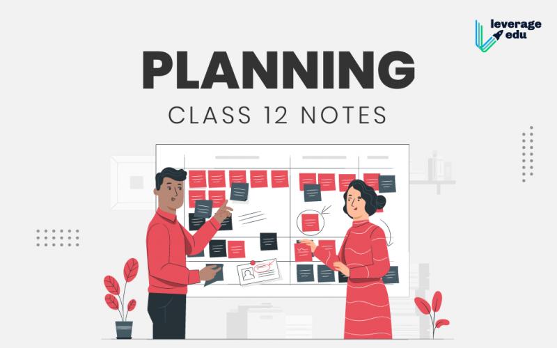 Planning Class 12