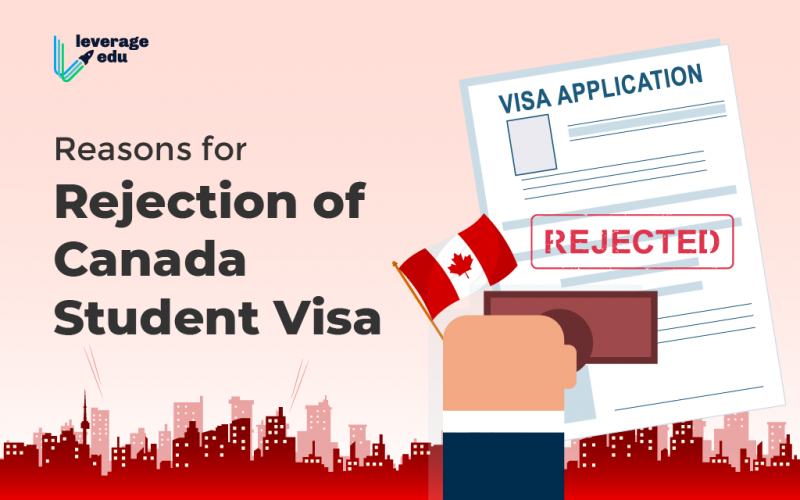 Reasons for Rejection of Canada Student Visa