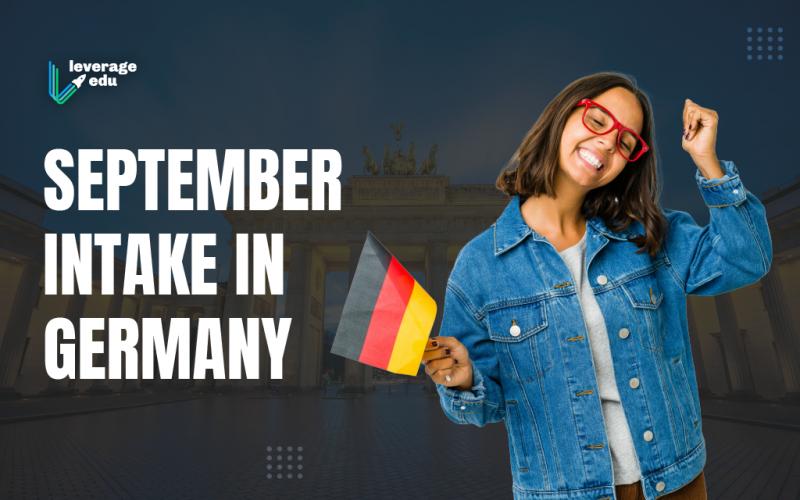September Intake in Germany