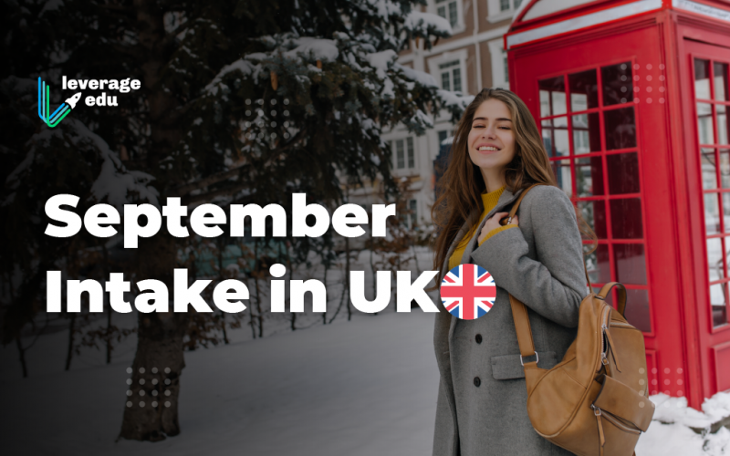 September Intake in UK