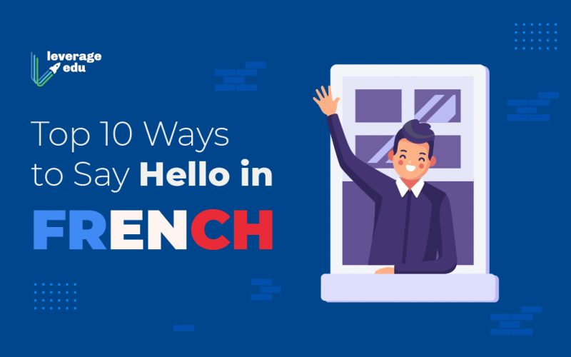 Hello in French