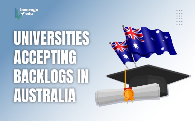 Universities Accepting Backlogs in Australia