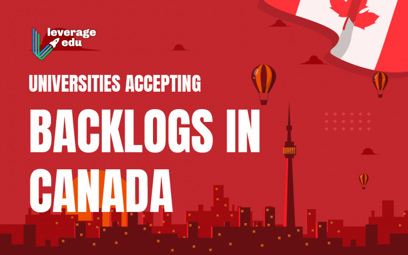 Universities Accepting Backlogs in Canada