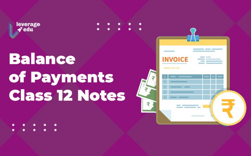 Balance of Payments Class 12 Notes