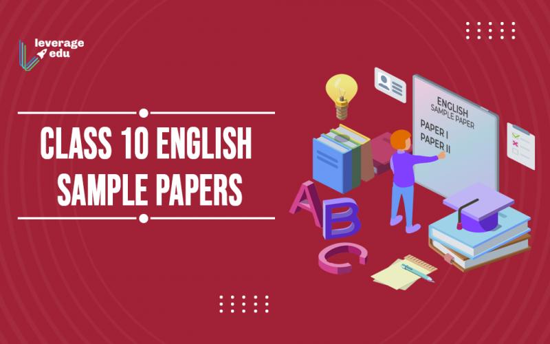 Class 10 English Sample Paper