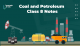 Coal and Petroleum Class 8 Notes