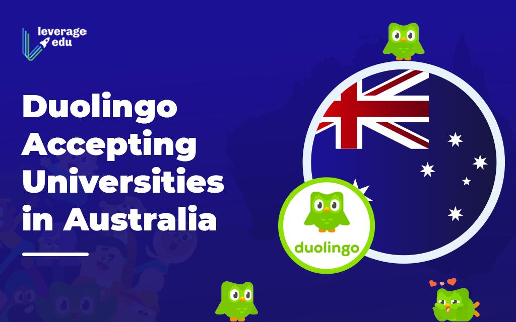 Duolingo Accepted Universities in Australia