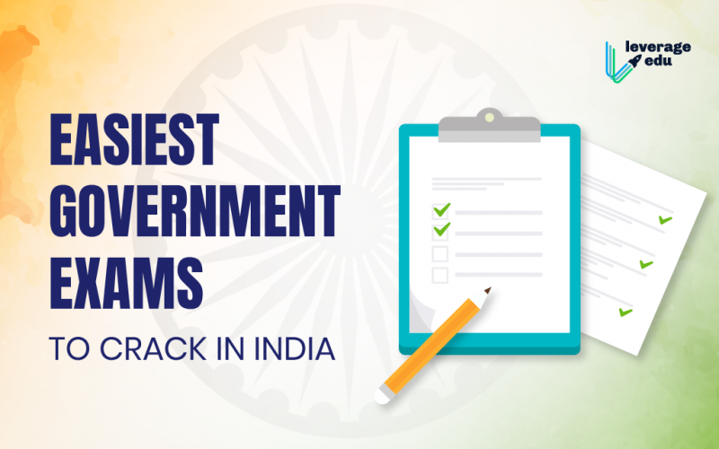 Easiest Government Exams to Crack in India