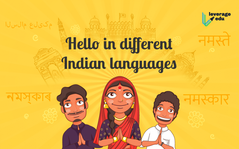 Hello in different Indian languages