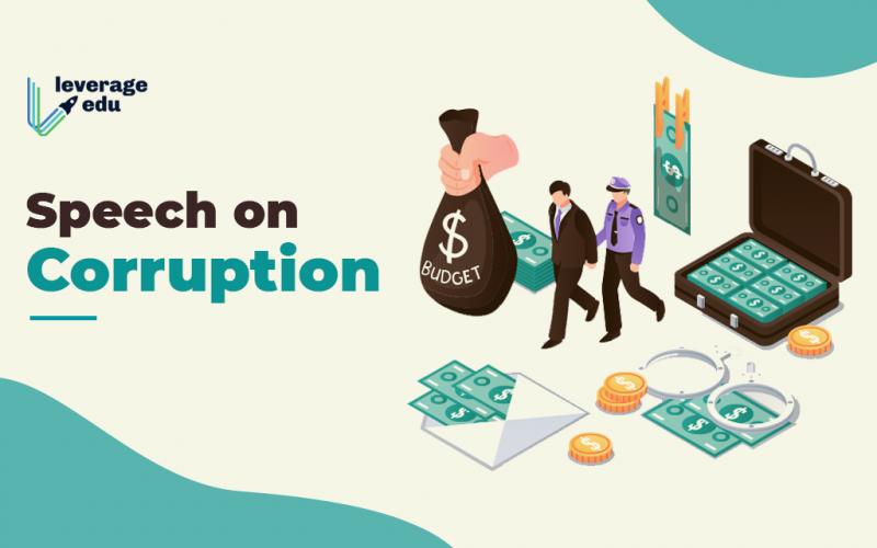 Speech on Corruption