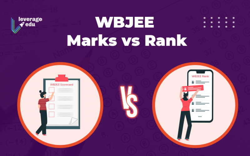 WBJEE Marks vs Rank