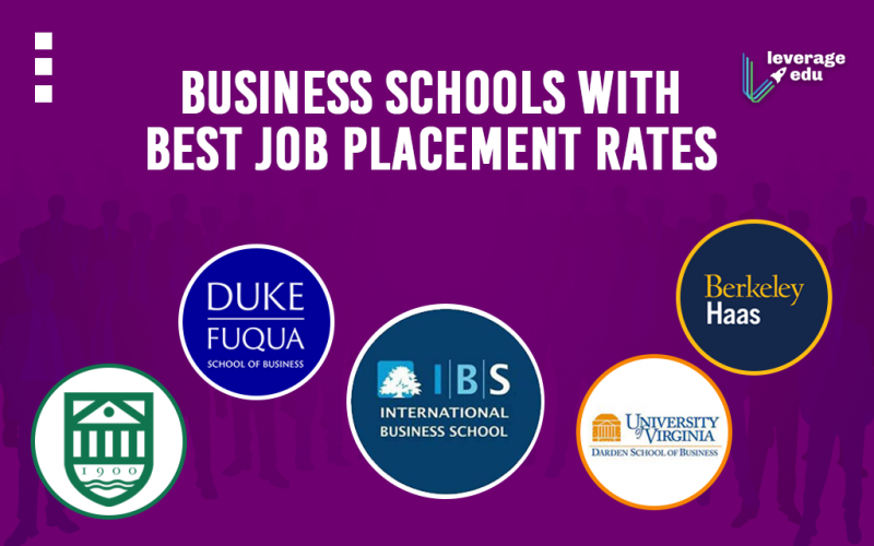 Business Schools with Best Job Placement Rates