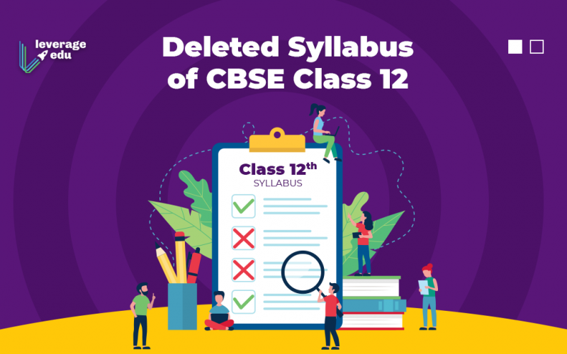 Deleted Syllabus of CBSE Class 12