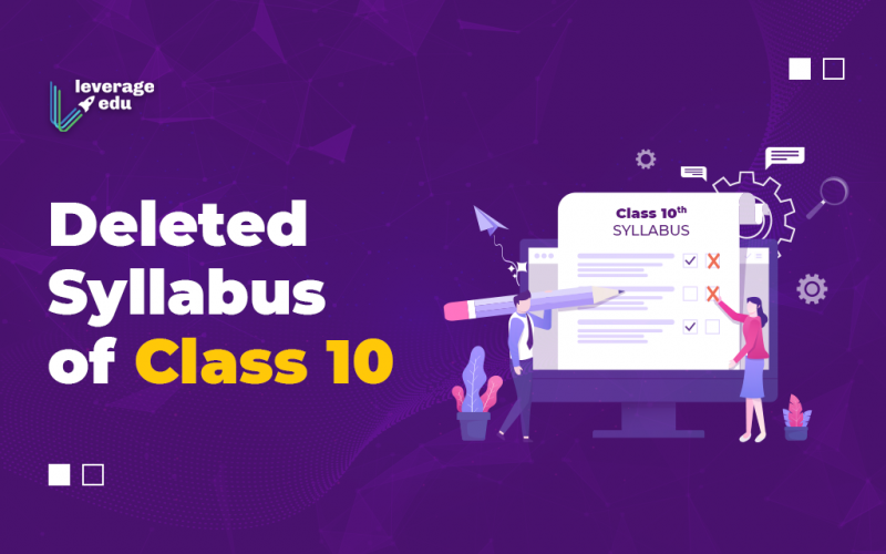Deleted Syllabus of Class 10th