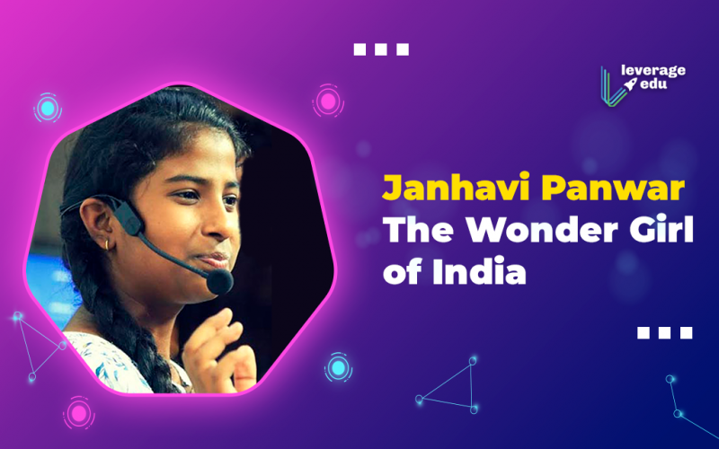 Janhavi Panwar, the Wonder Girl of India