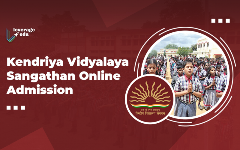 Kendriya Vidyalaya Sangathan Online Admission