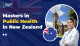 Masters in public health in New Zealand