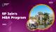SP Jain's MBA Program