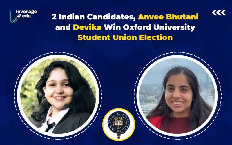 2 Indian Candidates Win Oxford University Student Union Election
