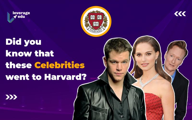 Celebrities who went to Harvard