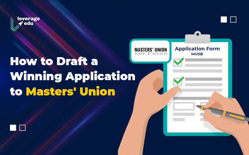 Masters' Union Application
