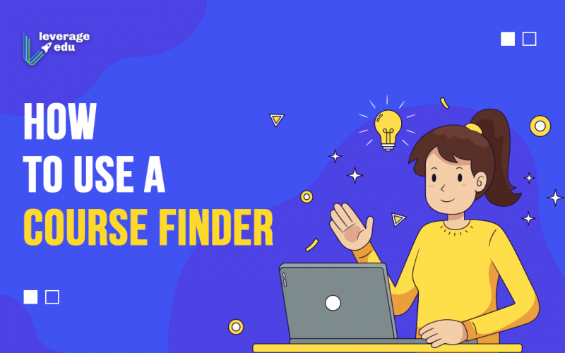 How to use a Course Finder