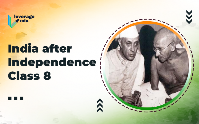 India after Independence Class 8