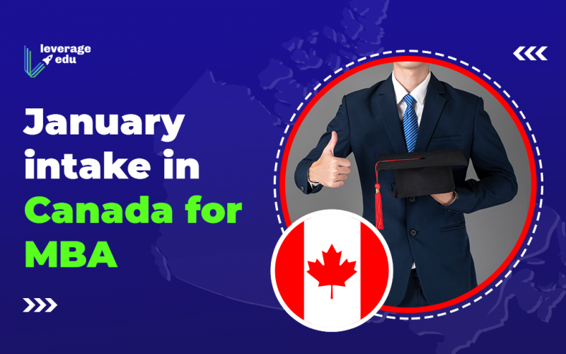 January Intake in Canada for MBA
