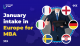 January Intake in Europe for MBA