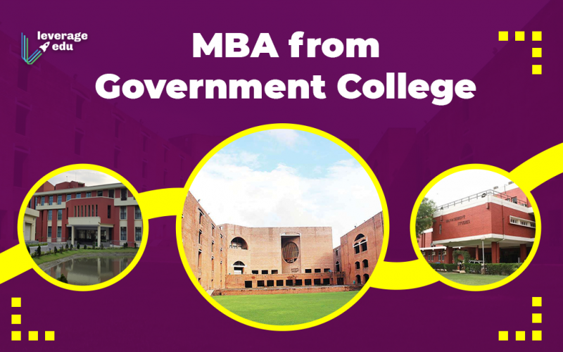 MBA in Government Colleges